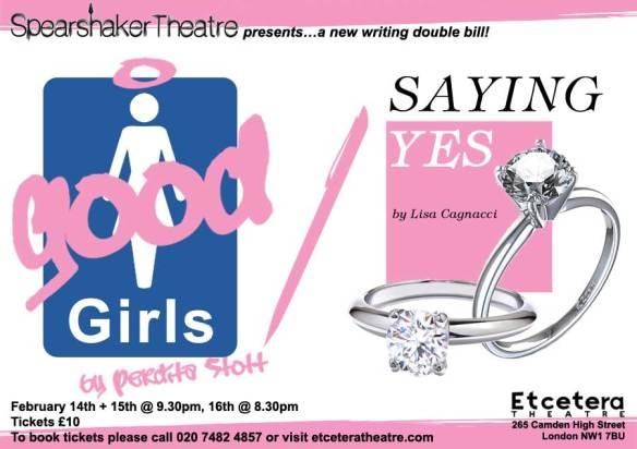 Good Girls / Saying Yes POSTER